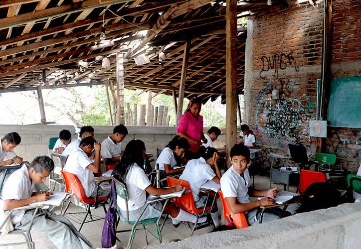La Reforma Educativa del Gobierno de la República, beneficiará a las escuelas que están en peores condiciones en el país. (Foto: Contexto/Internet).