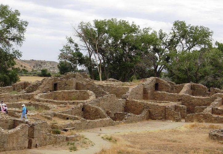 Ruinas Aztecas, en Nuevo México, fue añadido a la lista de Patrimonio de la Humanidad de la Unesco en 1987. (Agencias)