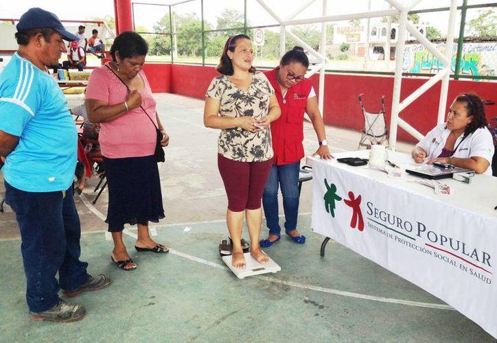 El Seguro Popular eliminó a cerca de 34 mil personas por tener doble servicio médico. (Paloma Wong/SIPSE)