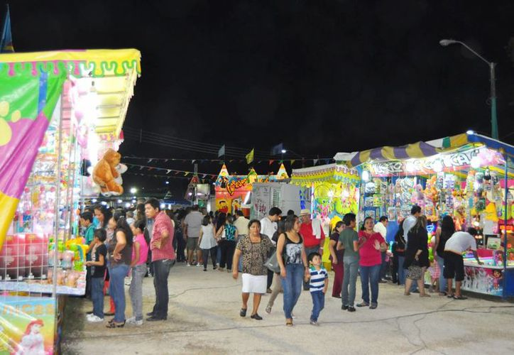 Comerciantes de la Expofer esperan tener buenas ventas el próximo fin de semana. (Ángel Castilla/SIPSE)