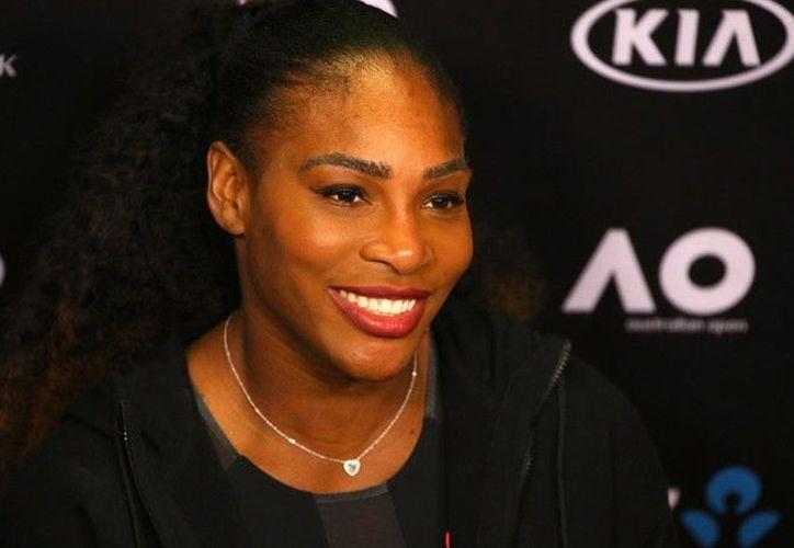 Serena Williams es parte de las jugadoras inscritas para el próximo Abierto de Australia. (Getty Images)