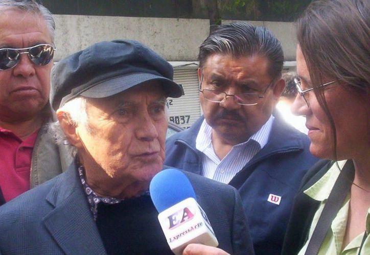 Jorge Arvizu fue hospitalizado en una clínica privada del DF desde el sábado pasado por problemas de salud. (Archivo/SIPSE)