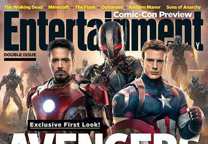 The Avengers: Age of Ultron. (Entertainment Weekly/Milenio)