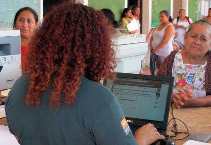 Los usuarios se manifestaron satisfechos con el Seguro Popular. (Milenio Novedades)