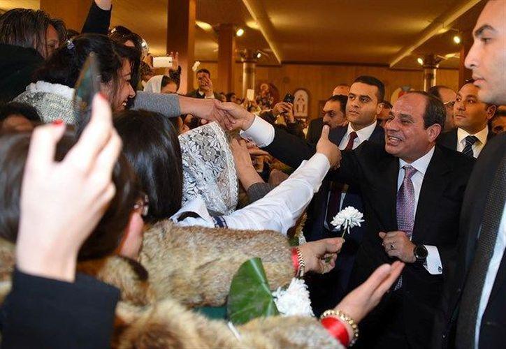 Abdelfatá al Sisi no cuenta con el apoyo de varios gobiernos de la región. (Reuters)