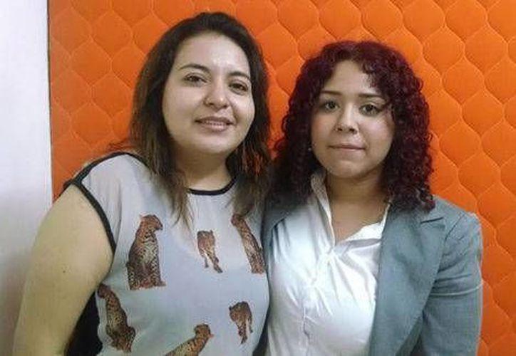 Priscila y Viridiana viajaron a la Ciudad de México para legalizar su unión. (Milenio)