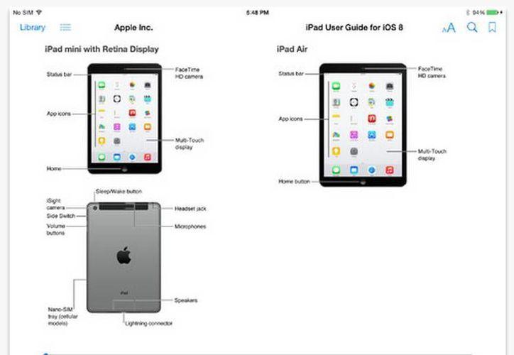 La imagen revelada accidentalmente por Apple indica que la nueva generación del iPad contará con detector de huellas. (apple.com)