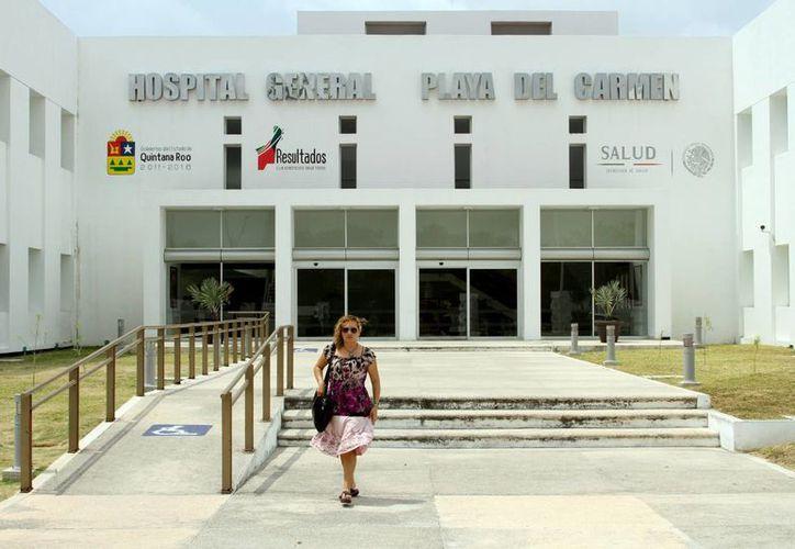 En días pasados los usuarios del Hospital General de Playa del Carmen se quejaron respecto a los servicios de hemodinamia y rayos X. (Adrián Barreto/SIPSE)
