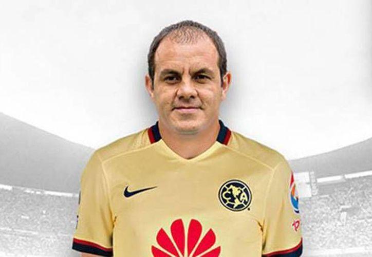 Cuauhtémoc Blanco portará el número 100 de las Águilas en el partido que se dará el próximo cinco de marzo en el Estadio Azteca, frente a Monarcas. (Imagen/ Liga MX)