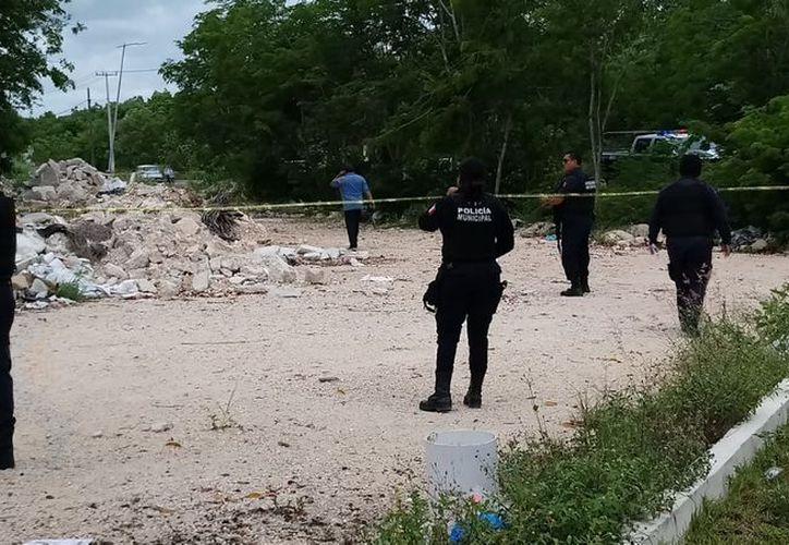 Alrededor de las 10:30 horas se reportó el hallazgo del cadáver. (Redacción/SIPSE)