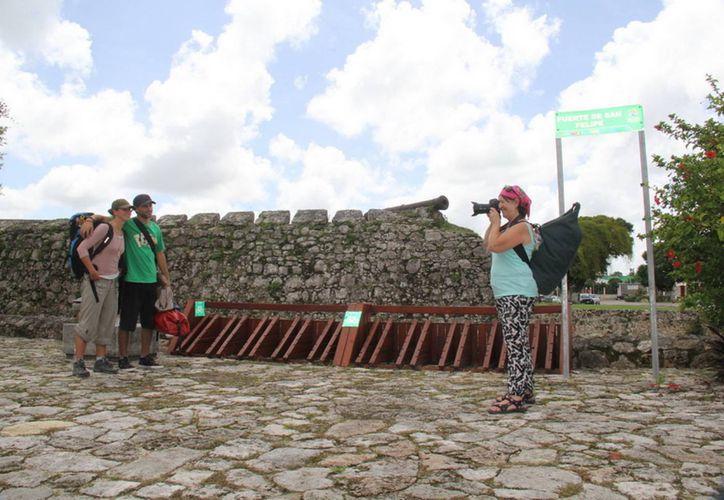 La mayor parte de los visitantes vienen del Estado de México, Puebla, Querétaro, entre otros. (Javier Ortiz/SIPSE)