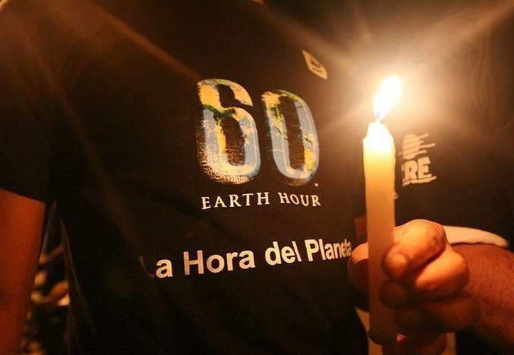 La misión de la campaña es unir a la gente para proteger el planeta; ve más allá de una hora. (Milenio Novedades)