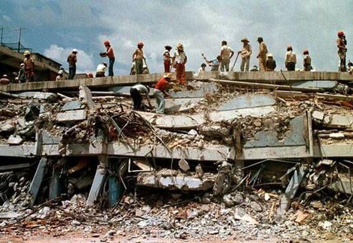 El pasado 19 de septiembre se cumplieron 30 años del terremoto den la Ciudad de México. (Contexto/Internet)