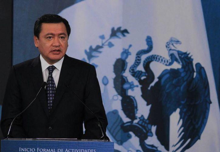 El secretario de Gobernación, Miguel Ángel Osorio Chong encabezó el Inicio Formal de Actividades de Centros de Justicia Penal Federal, en las instalaciones de la Suprema Corte de Justicia de la Nación. (Notimex)