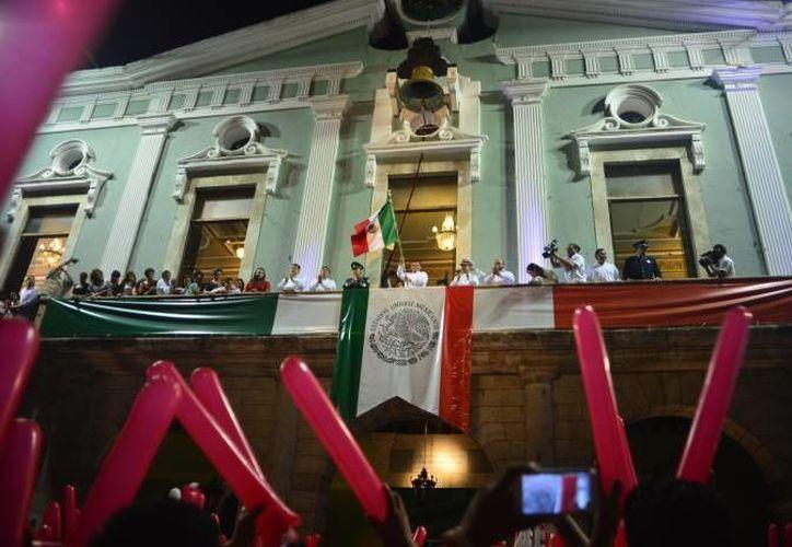 La ceremonia del Grito de Independencia se realizará este jueves a las 21:00 horas. (Archivo/ SIPSE)