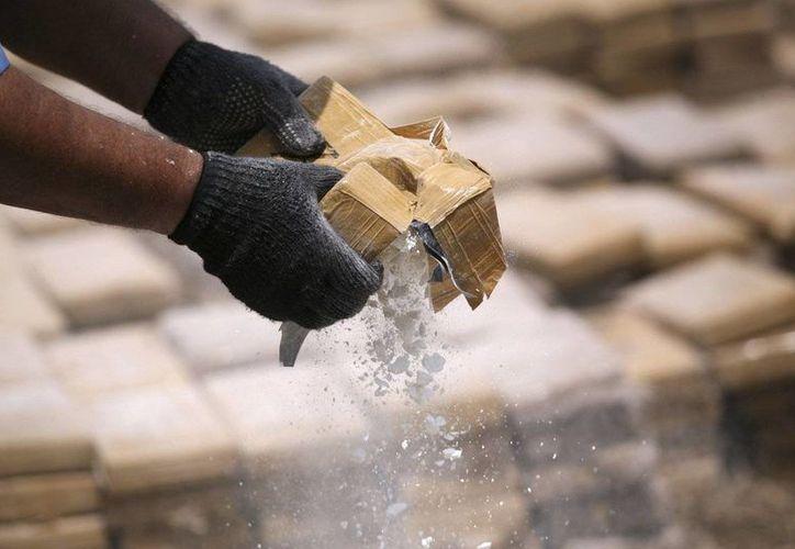 La droga incautada pertenecería a una organización dedicada al tráfico de estupefacientes desde la costa pacífica colombiana hacia Centroamérica, con EU como destino final. (Archivo/Agencias)