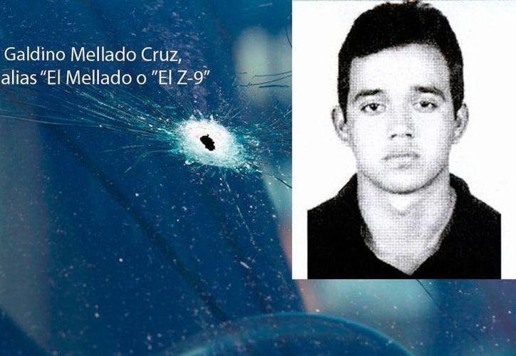 Galdino Mellado Cruz es uno de los militares de fuerzas especiales desertores que fundaron el Cártel de Los Zetas. (Foto especial)