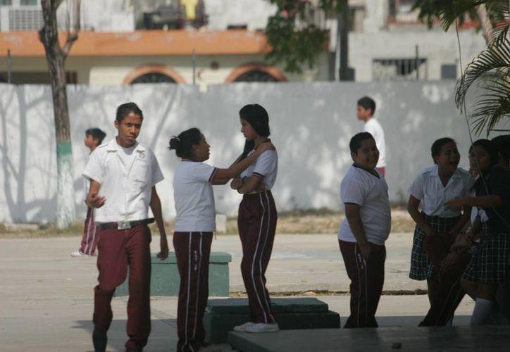 El protocolo contra el acoso escolar servirá de apoyo a directivos y docentes. (Harold Alcocer/SIPSE)