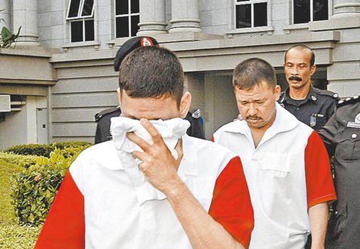Los sinaloenses en la corte de apelaciones de Malasia. (Milenio)