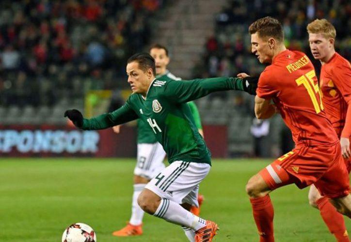 Bélgica y México empatan en partido amistoso rumbo a Rusia 2018. (Redes sociales).