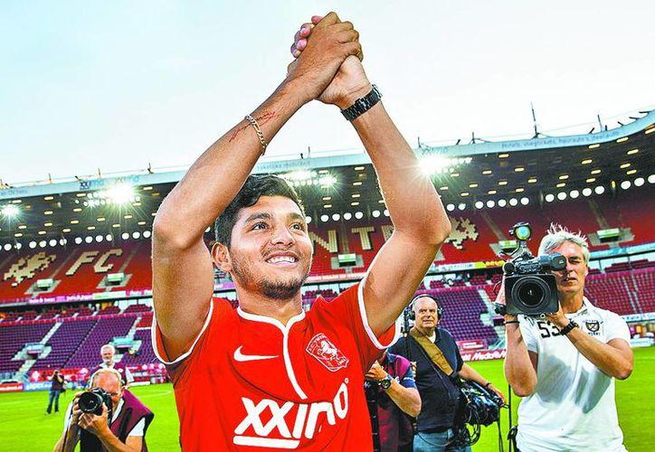 Jesús Manuel Corona valora el fichaje del Twente y ve en la Liga holandesa el trampolín que necesita su carrera para explotar al máximo sus condiciones. (FC Twente)