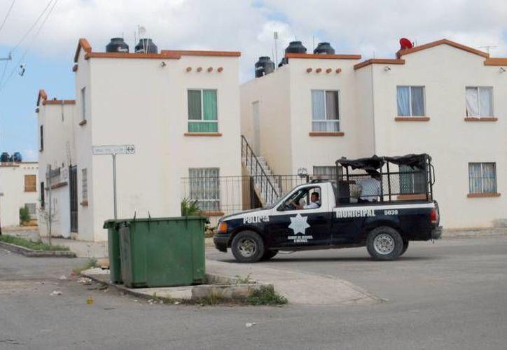 En breve aumentará el patrullaje en el fraccionamiento. (Archivo/SIPSE)
