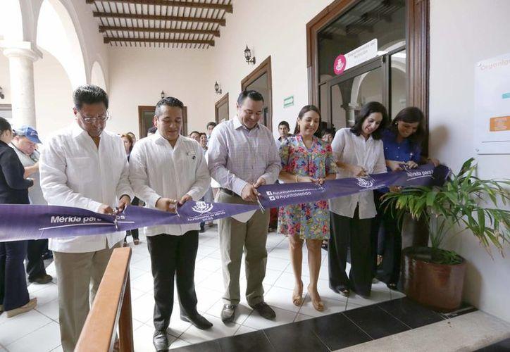Inauguración del Centro Municipal de Atención Nutricional y Diabetes, ubicado en la calle  64 entre 61 y 63 del centro de Mérida. (SIPSE)