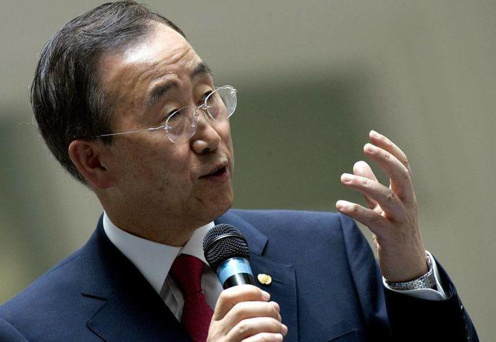 La decisión de Ban Ki-moon no tuvo que ser aprobada por los Estados miembros de la ONU. (EFE)