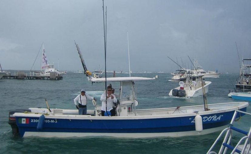 Invitan a pescadores de Playa del Carmen, Cozumel y Tulum para el torneo. (Lanrry Parra/SIPSE)