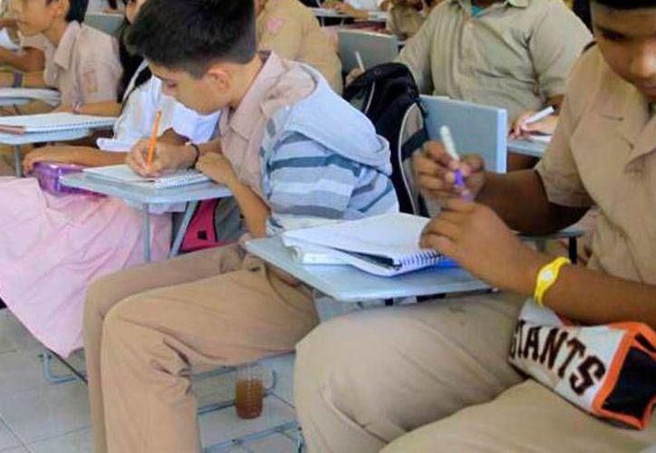 Los estudiantes de Yucatán tendrá una semana más de vacaciones este verano: la entrada será el 31 de agosto, y en el 24 como estable el calendario escolar de la SEP 2015-2016. La imagen es de contexto. (SIPSE)