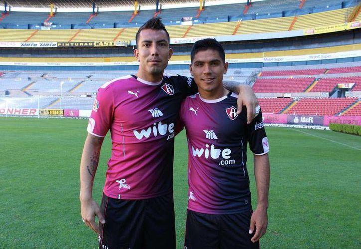 Atlas utilizará el uniforme rosa en su duelo del próximo sábado, ante Gallos Blancos de Querétaro, en el Estadio Jalisco.(Foto tomada de Facebook/Atlas FC)