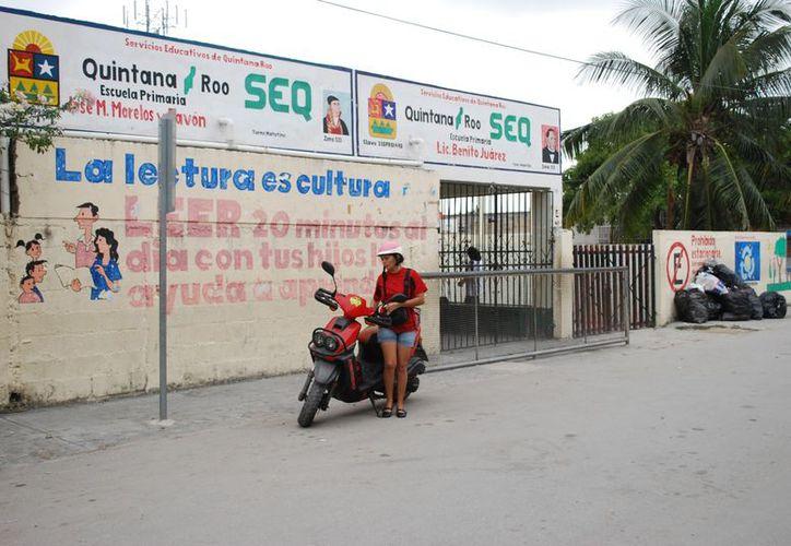 Las escuelas más vulnerables son las ubicadas en las zonas de mayor conflicto de la ciudad. (Tomás Álvarez/SIPSE)