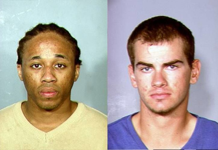 Michael Solid y Jacob Dismond, de 18 y 21 años respectivamente. (Agencias)
