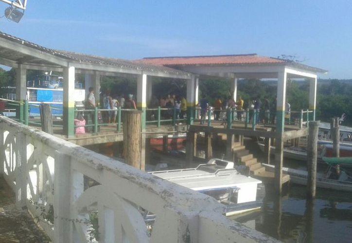 La embarcación, llamada Comandante Ribeiro, naufragó entre los municipios de Senador José Porfirio y Puerto de Moz.(BBC)