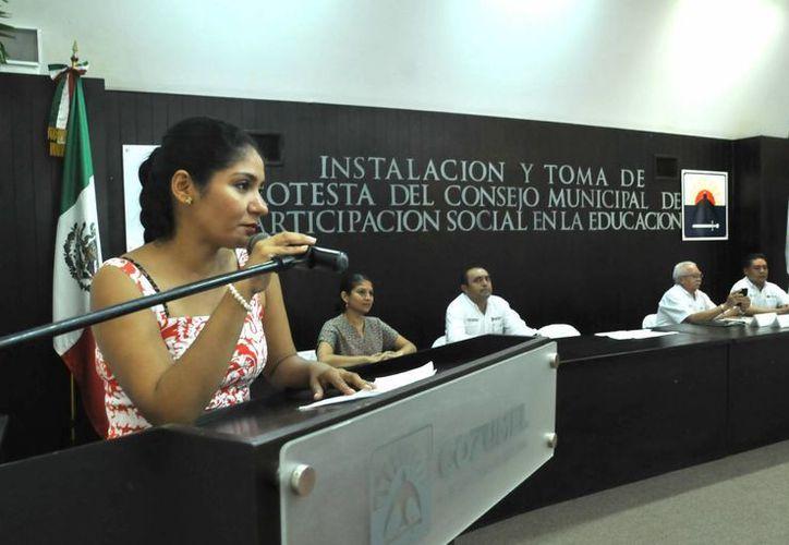 Ayer fue instalado el Consejo Municipal de Participación Social en la Educación en Cozumel.  (Redacción/SIPSE)