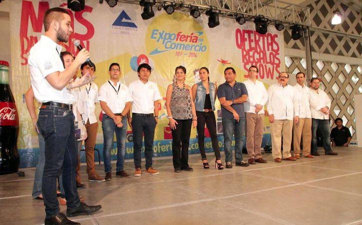 En el marco de la Expo Feria del Comercio 2016 se entregaron premios a los mejores proyectos emprendedores. (Milenio Novedades)