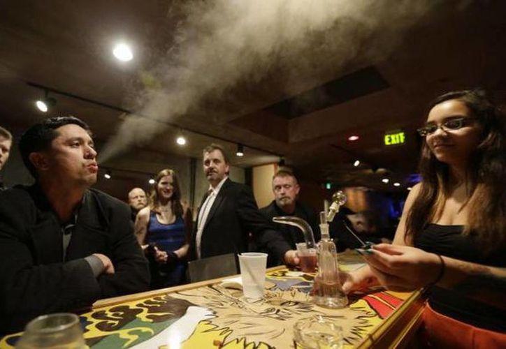 En la mayor parte de EU el consumo de la marihuana es recreativo y no está considerado un delito. (Agencias)