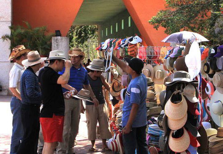 Alta afluencia a zonas mayas. (Foto: Milenio Novedades)