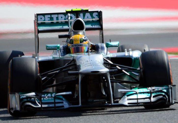 Rosberg bajó el crono hasta 1:20.718 minutos. (Foto: Agencias)