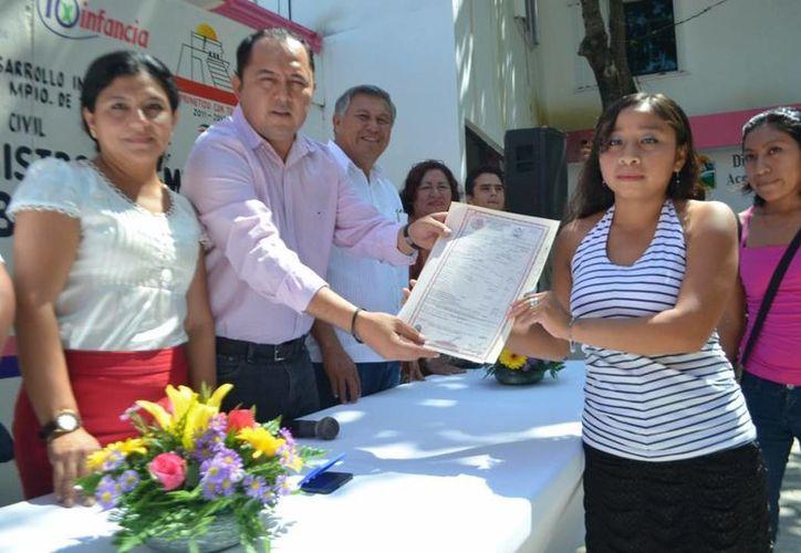 Se realizó el evento en la explanada del DIF municipal. (Cortesía/SIPSE)