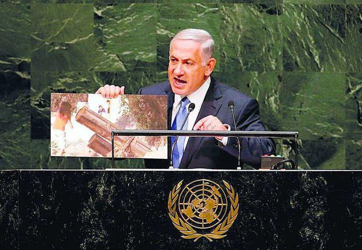 Señala primer ministro que los palestinos no deberían alejarse de la paz. (Cortesía/SIPSE)