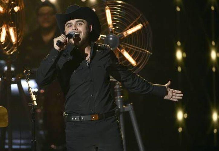 El concierto de Gerardo Ortiz estaba programado para el próximo 23 de abril en el palenque de la Feria de Puebla.(Notimex)