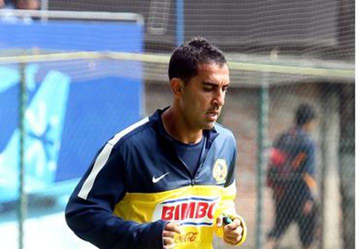 A pesar de haber anotado en la vuelta ante Toluca, el 'Rolfi' ya no es considerado por las Águilas para el Clausura 2013. (Foto: Agencia Reforma)