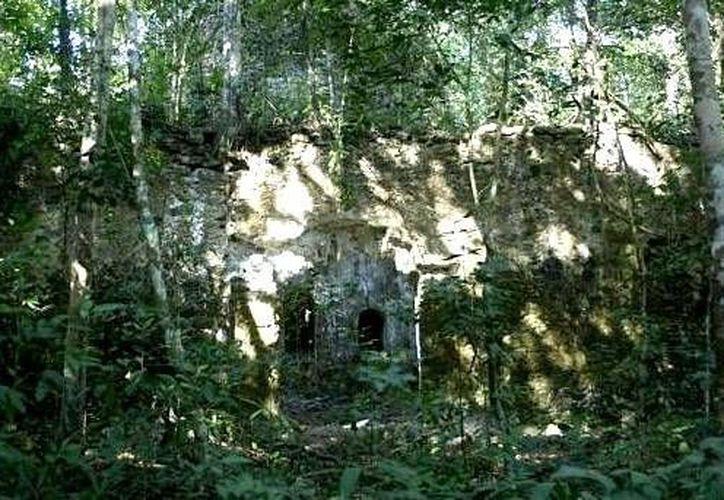 El poblado indígena de Chichanhá fue tomado por los españoles a fin de instaurar un bastión político. (Ángel Castilla/SIPSE)