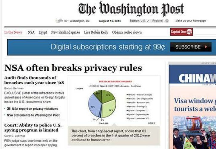 La Máscara ha utilizado subdominios que simulan ser páginas de prestigiados sitios como The Washington Post. (Captura de pantalla)