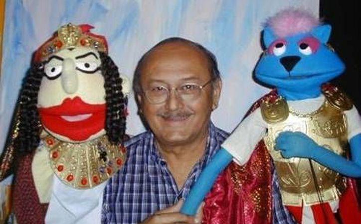 El ESAY creará un archivo especializado sobre Wilberth Herrera, creador de Teatro y de titeradas. (SIPSE)