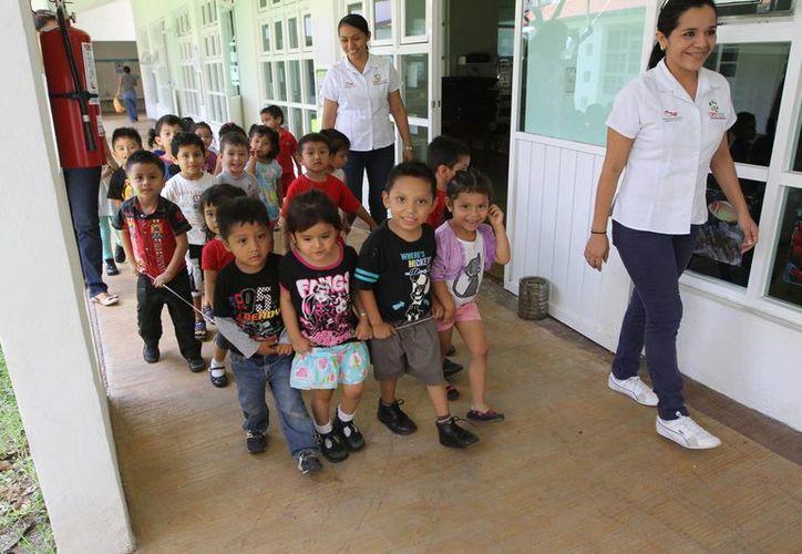 La institución cuenta con un padrón de personas que recibe un apoyo mensual. (Ángel Castilla/ SIPSE)