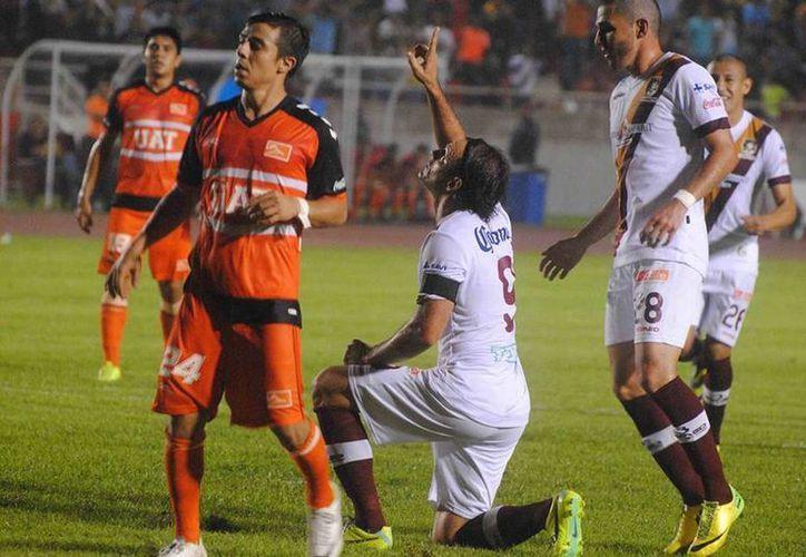 Tras vencer a Celaya 3-1 el Club Coras FC se mantiene en el tope de la tabla con 29 puntos. (Foto de contexto/Facebook/CorasFC)