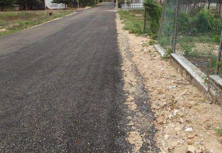La mala calidad de las obras se percibe desde cualquier ángulo, aseguraron moradores de la región. (Carlos Yabur/SIPSE)