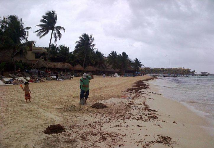 La Capitanía de Puerto sugiere a la población mantenerse atentos a las indicaciones de las autoridades respecto al clima.  (Daniel Pacheco/SIPSE)